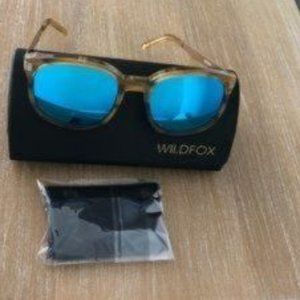 WILDFOX | Geena Mirrored Sunglasses